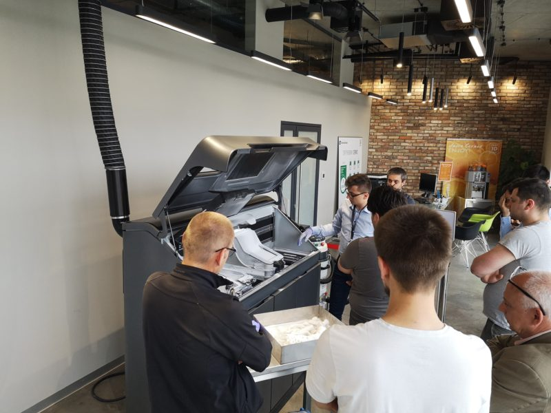 Zajęcia praktyczne przy drukarce 3D